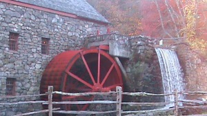 Grist Mill at Longfellow's Wayside Inn