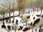 Grandma Moses - Last Run of Sap (1954)